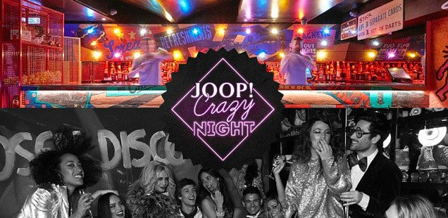 WIN the craziest night of your life with JOOP! Crazy Night