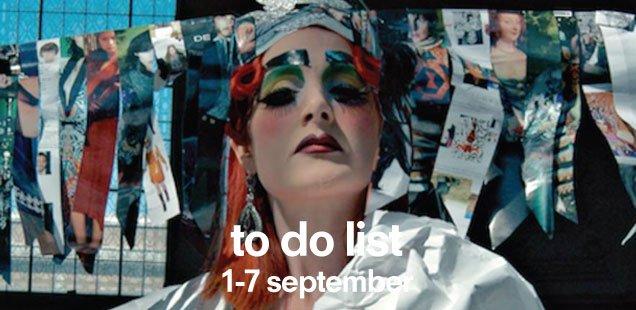 London To Do List – 1-7 September