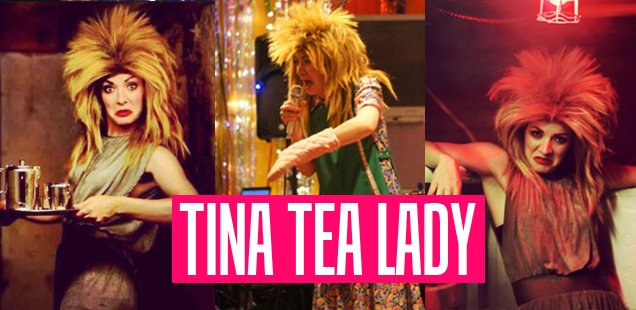 Simply the Best Interview with 'Tina T'Urner Tea Lady' Musical Comedy Superstar