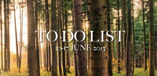 London To Do List - 10-16 June 2013