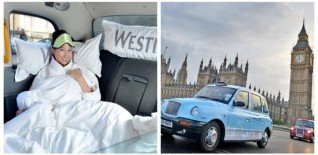 Cheer up Monday with a Free Relaxing Cab Ride thanks to Westin Hotels & Resorts