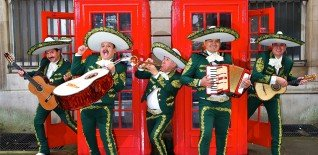 Doritos Mariachi Band's Free Xmas Fiesta