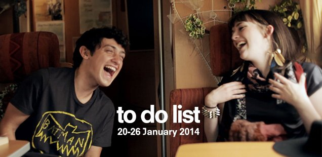 London To Do List - 20-26 January