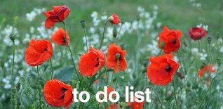 London To Do List – 7th-11th May 2014