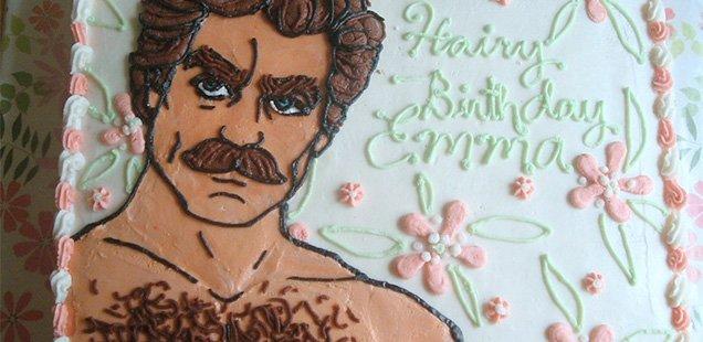 Erotic Cake Decoration