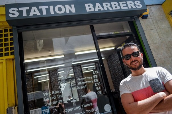 Adam from Station Barbers
