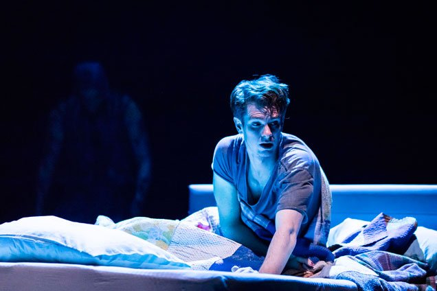 Andrew Garfield (Prior Walter) in Angels in America