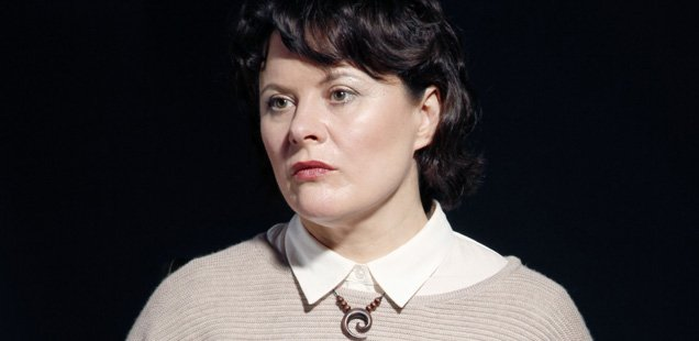 Monica Dolan in The B*easts. Photo: Alan Harris