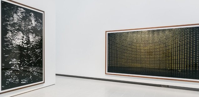 Installation view: Andreas Gursky, Hayward Gallery 2018 © Mark Blower