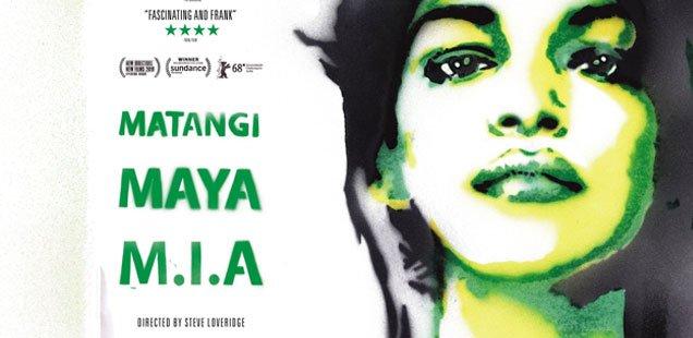 Win 1 of 4 iTunes Vouchers for MATANGI / MAYA / M.I.A documentary
